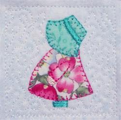 Mini Sun Bonnet Sue embroidery design