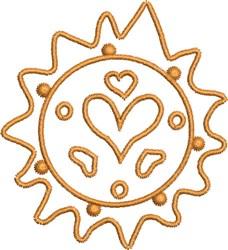 Sun Spots Native Design embroidery design