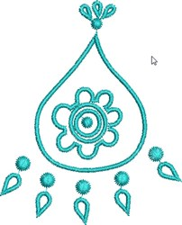 Native Design embroidery design