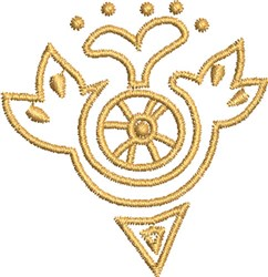 Hative Symbol embroidery design
