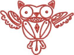 Native Designs Owl embroidery design