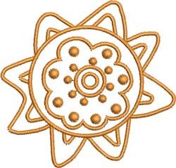 Caliente Del Sol embroidery design