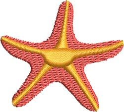Star Fish embroidery design