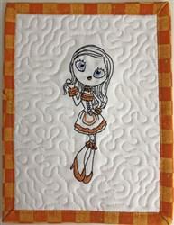 Oktoberfest Diva Mug Rug 4 embroidery design