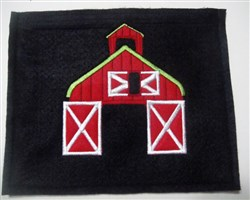 Old Mac Donalds Barn Pouch embroidery design