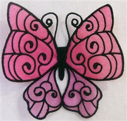 ITH FS Organza Butterfly 2 embroidery design