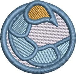Scorpio Symbol Cap embroidery design