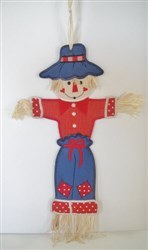 """Scarecrow Wall Hanging for 6"""" x 10"""" Hoop embroidery design"""