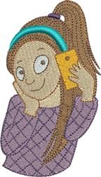 Selfie 6 embroidery design