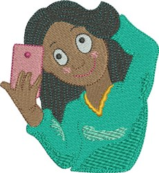 Selfie 8 embroidery design