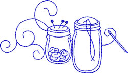 Sewing embroidery design