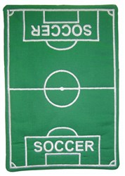 Soccer Mug Mat embroidery design