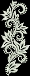 Sophisticated Scroll embroidery design