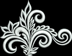 Sophisticated Swirl embroidery design