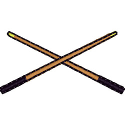 Pool Cues embroidery design