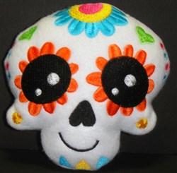 Sugar Skull Softie 2 embroidery design