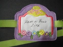 Stabilizer Label E embroidery design