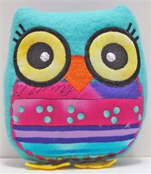Stuffed Owl embroidery design