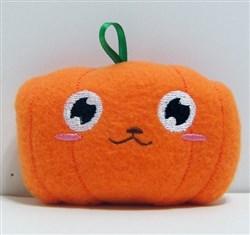 Stuffed Pumpkin Baby Rattle embroidery design