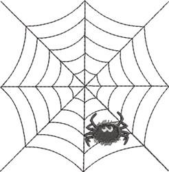 Spider Web & Spider 5 embroidery design