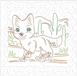 ITH SW Desert Baby Quilt 8 embroidery design