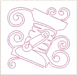 ITH Sewing Quilt Block 3 embroidery design
