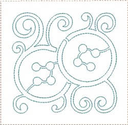 ITH Sewing Quilt Block 4 embroidery design