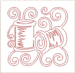 ITH Sewing Quilt Block 9 embroidery design