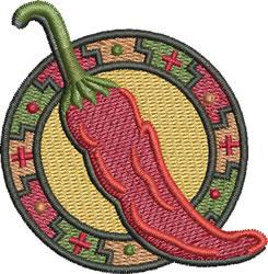Chili Mimbres embroidery design