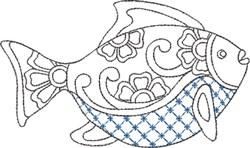 Talavera Element 11 embroidery design