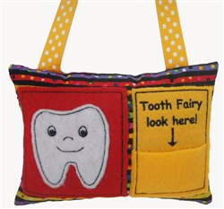 Tooth Fairy Pillow embroidery design