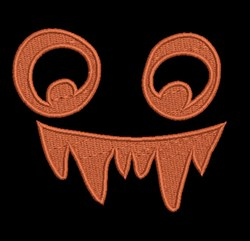 Monster Under My Bed embroidery design