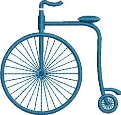 Antique Bike embroidery design