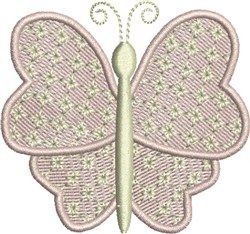 Sweetheart Butterfly embroidery design