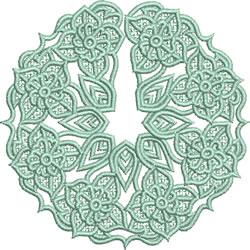 FSL Glass Skirt embroidery design