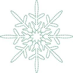 Snowflake Splendor embroidery design