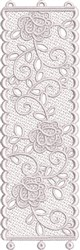 FSL Wedding Votive Candle Cover embroidery design