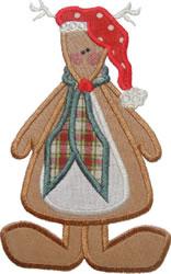 Rudolph Reindeer Applique embroidery design
