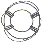 Lifering embroidery design