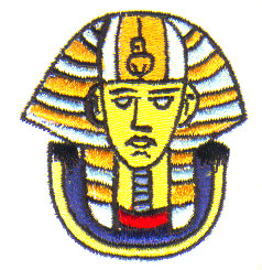 Egyptian Mask embroidery design
