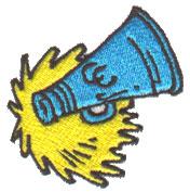 Cheerleading embroidery design