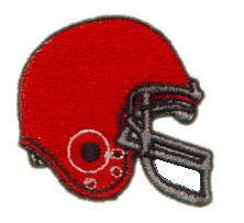Helmet embroidery design