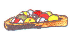Poolballs embroidery design