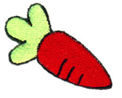 Fat Carrot embroidery design