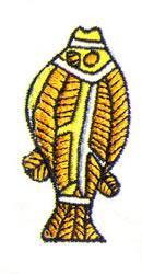 Aboriginal Fish embroidery design