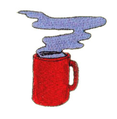 Hot Beverage embroidery design