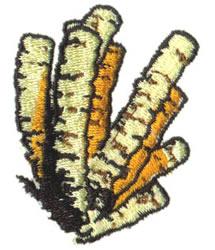 Coral embroidery design
