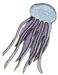 Jellyfish embroidery design