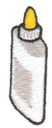 White Glue embroidery design