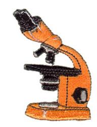 Microscope embroidery design